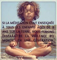 Méditer : Encouragez les enfants à méditer avec ces 4 conseils.