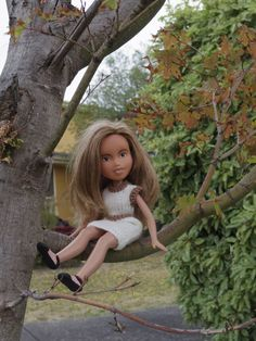 Here are the Tree Change Dolls (ex-Bratz dolls) playing outside the way kids should, after their radical make-unders.