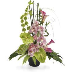 Картинки по запросу цветочные сердечки из живых цветов