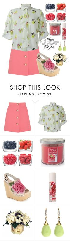 """130"" by erohina-d ❤ liked on Polyvore featuring Prada, Miu Miu, Marco de Vincenzo, LSA International, Yankee Candle, Jeffrey Campbell and Forever 21"