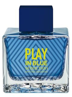 Play In Blue Seduction For Men Antonio Banderas cologne - a new fragrance for men 2017