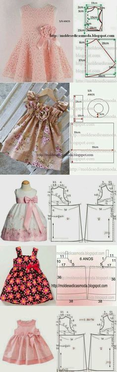 ¡Cosemos a sus hijos! Little girls dresses - Pattern with measurements in cm A selection of children& models . Different frock patterns Discover recipes, home ideas, style inspiration and other ideas to try.sews on patterns - Baby Dress You deserve Little Dresses, Little Girl Dresses, Girls Dresses, Baby Dresses, Peasant Dresses, Dress Girl, Dresses Dresses, Fashion Kids, Baby Outfits