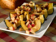 Apple Stuffed Acorn Squash