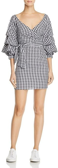 The perfect gingham dress for sneakers or sandals.