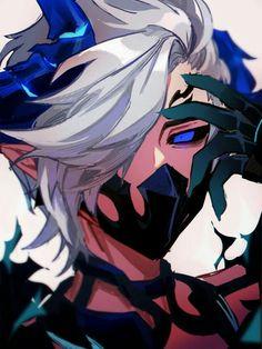 Senran demon fantasy( SK harem x male reader x FF harem) Demon Manga, Anime Demon Boy, Anime Devil, Dark Anime Guys, Cool Anime Guys, Cute Anime Boy, Anime Oc, Anime Chibi, Fantasy Character Design
