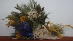Bloglink: Die ideale Bastelidee im Spätsommer und Herbst ist Trockenstrauß aus Gras, Strandflieder und Bast. Ein Blumenstrauß aus Wiesenblumen war der klare Floristik Trend 2014 und wird in 2015 al...