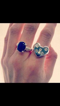 Love the padlock ring!