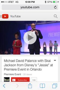 "Skai Jackson, from the Disney Channel smash hit ""Jessie"", teaches CEO Michael David Palance the Zuri Ross catchphrase at Premiere Event in Orlando at Walt Disney World.  https://www.youtube.com/watch?v=Swn2zosMHFY&list=PLd3Qhe6MFCljZnjM6jteW_jKQo1cwkMS_"