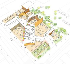 The Towada city plaza for social communication (Proposal) | News | kengo kuma and associates
