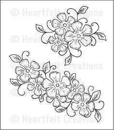Heartfelt Creations | Tropical Floral Swirls PreCut Set  $15.99