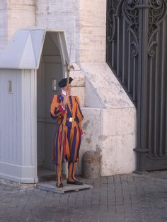 Checking Out the Swiss Guards