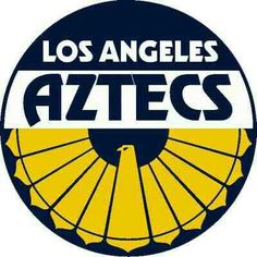Los Angeles Aztecs crest.