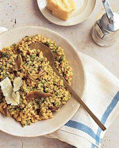 Whole Grain Goodness // Farro and Porcini Risotto Recipe