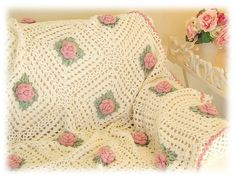 My grandmother started to make an afgan just like this for me before she died.  I must find it!