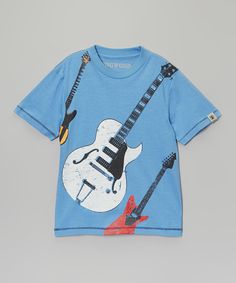 Look at this Chambray Electric Guitars Tee - Infant, Toddler