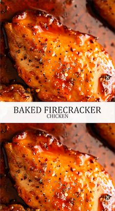 BAKED FIRECRACKER CHICKEN | Latte Intero Quick Healthy Meals, Healthy Food Choices, Healthy Dinner Recipes, Cooking Recipes, Delicious Recipes, Keto Recipes, Fish Recipes, Chicken Recipes, Recipies