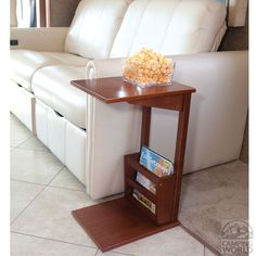 New Solid Oak Wood Folding Tv Tray Laptop Table Rv Tray