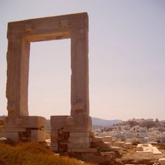 Naxos -- Temple of Apollo