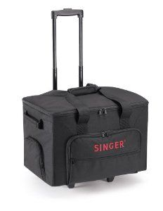 Amazon.com: SINGER Extra Large Rolling Sewing Machine Tote Bag: Arts, Crafts & Sewing