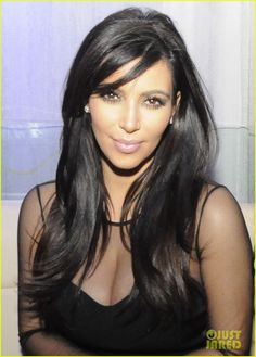 Kim Kardashian,love her hair