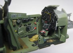 Resultado de imagen de jaguar resin p-51b mustang cockpit