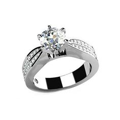 Bellera Jewelry Unique 18K Platinum Plated Authentic 925 Sterling Silver Clear CZ Crystal Ring Size 9. Quantity:1 piece with 925 stamped. Material:solid 925 sterling silver with 18K platinum plated. Main CZ Crystal Size:6.5mmx1pcs;1.3mmx28pcs;1.2mmx4pcs;1.1mmx4pcs;1.0mmx4pcs. High quality dazzling cubic zirconia crystals. Using the latest cutting technology smooth cutting crystal surface. All manual polishing technology. Environmental protection is not easy to fade. Nickel Free & Top…