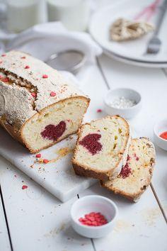 ... valentine`s day pound cake ...
