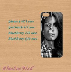 iphone 4 case,iphone 5 case,ipod touch 4 case,ipod touch 5 case,Blackberry z10,Blackberry q10,Lana Del Rey,cute iphone 5 case.ipod 5 case. by BlueSeaFish, $14.99