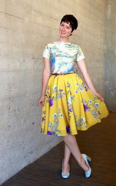 ModCloth's founder Susan has an eye for mixing and matching prints!