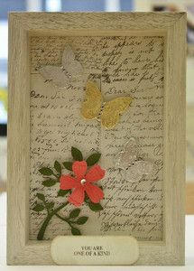 Fluttering Butterflies Picture Frame…