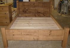5ft rustic bed.JPG 2408×1679 pixels