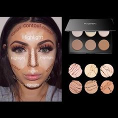 Here's a quick guide on how to contour and highlight like a pro! When you order our contour pallets we include a how to guide for all you contour novices #iconiclondon #beiconic #contourlikeapro