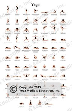 75 yoga poses pdf 85x11  etsy  ashtanga yoga primary