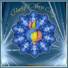 Cantinho de Imagens da Guerreira: Mandala Chama Trina