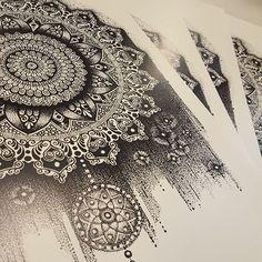 Mandala/zentangle