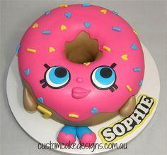 Shopkins D'lish Donut Cake  on Cake Central