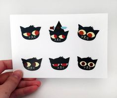Night in the Woods sticker sheets featuring your favorite characters! Each sticker sheet is 4x6 and each sticker is approximately 1.5 x 1.5. Buy one, two, or all three sheets! *If you pick two sheets please specify which two you would like!  Sheet A: The many faces of Mae Borowski  Sheet B: Mae and the Possum Springs gang  Sheet C: Possum Springs neighbors