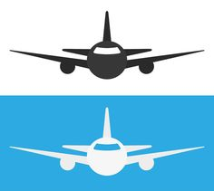 Airplane Icon by lovelogo on @creativework247