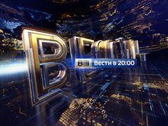 Vesti 20:00 on Behance