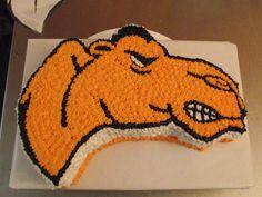 Campbell University Mascot Cake