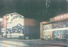 Neony kina Kosmos w Szczecinie // Old cinema in Szczecin Home Remodeling, Kitchen Remodel, Cinema, Architecture, Photography, Arquitetura, Movies, Photograph, Cinematography