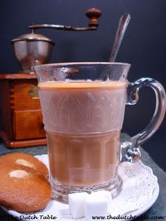 Dutch Food - Koffie Verkeerd