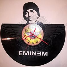 Amazon.com Seller Profile: VINYL PLANET wall clock EMINEM