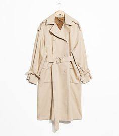 cbda2c798d Other Stories Oversized Trench Coat Trench Coat Outfit, Belted Coat, Beige  Trench Coat