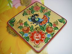 Wooden Cutting Board.Handmade Hand painted by IGORartPAINTING