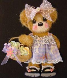 Easter Girl Tear Bear