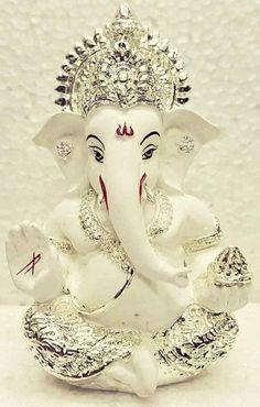 Laxmi Ganesha Idol Gifts For Diwali Shri Ganesh Images, Ganesh Chaturthi Images, Ganesha Pictures, Happy Ganesh Chaturthi, Ganesh Idol, Ganesha Art, Ganesha Drawing, Ganesh Bhagwan, Ganpati Bappa Wallpapers