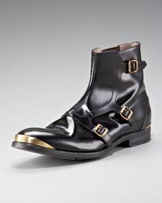 Alexander Mcqueen Monk-strap Boot