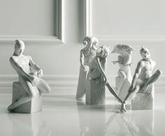 Porzellan-Deko-Statue Skorpion, weiblich, H 20 cm | Westwing Home & Living