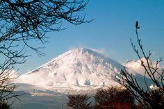 御殿場プレミアムアウトレットから富士山